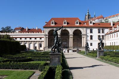 Wallenstein Palace Gardens, Prague.