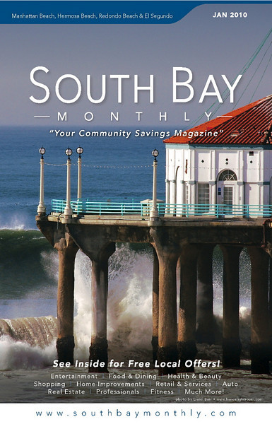 """Front Cover of """"South Bay Monthly Magazine"""", 1st week of January 2010."""