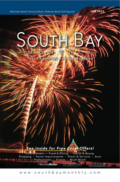 """Front Cover of """"South Bay Monthly Magazine"""", 1st week of January 2011."""