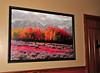 Artwork displayed at The Lazy Dog Cafe Restaurant, Valencia, CA. 12/2/09