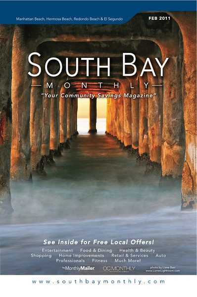 "Front Cover of ""South Bay Monthly Magazine"", February 2011."