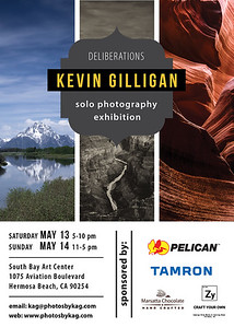 Just Announced - My Second Solo Photography Exhibition: May 13th-14th in Hermosa Beach!
