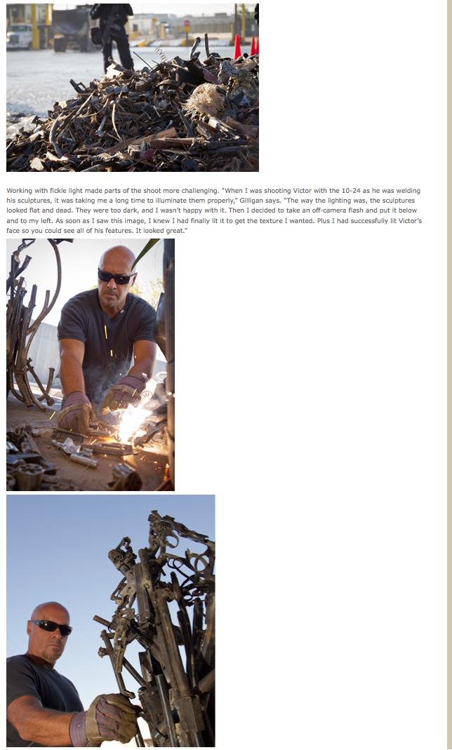 Tamron's Dec. 2012 newsletter page 3.