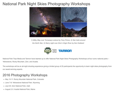 JUST ANNOUNCED: JOIN ME IN YELLOWSTONE NATIONAL PARK FOR A NIGHT PHOTOGRAPHY WORKSOP ON JUNE 7-8th.