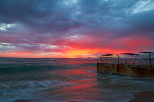 Award winning photography of a Redondo Beach, CA Sunset