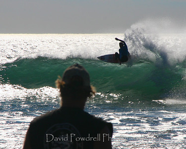 Mind surfing at the annual Rincon Classic