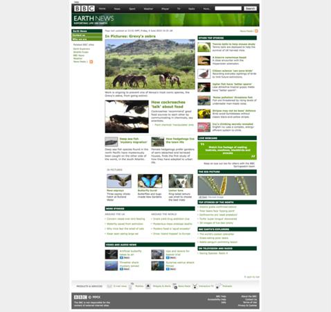 BBC Earth - Grevy's Zebra Photostory