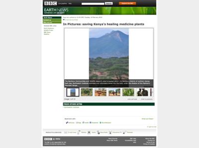 BBC Earth - Medicinal Plants Photostory