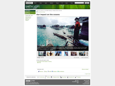 BBC Earth - Our Impact on the Oceans Photostory