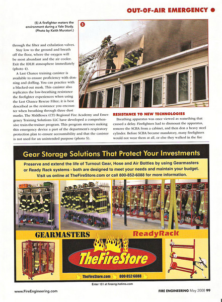 Fire Engineering Magazine (May 2008)