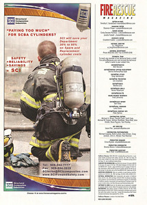 SCI Ad (Fire Rescue Magzine-several issues)
