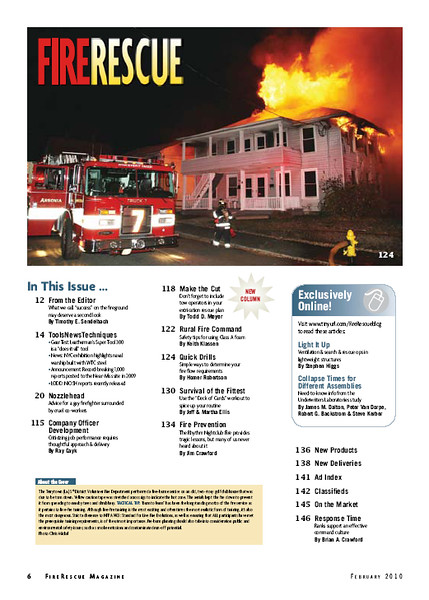 Fire Rescue Magazine (PAGE 4) February 2010