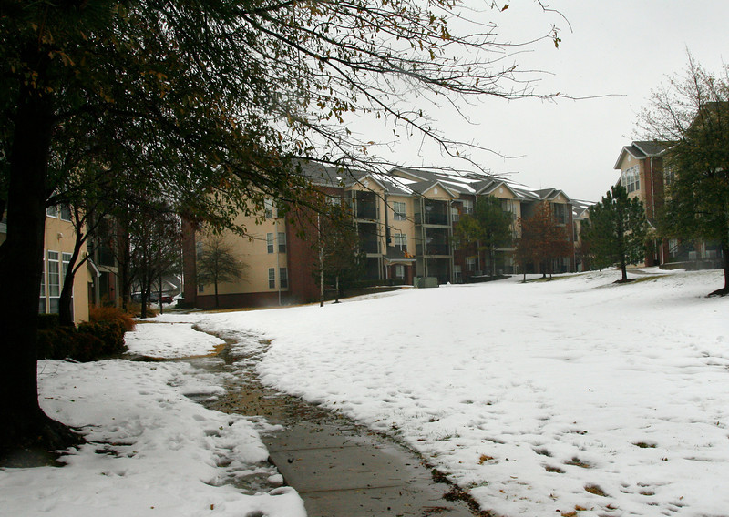 The Villas on Memorial apartment complex in Tulsa.