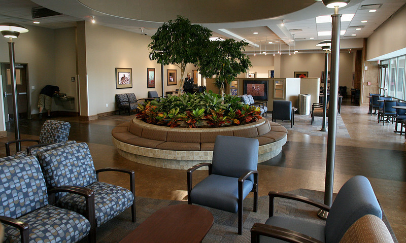 The Muskogee Community Hospital is a built to LEED standards.  The Hospital began accepting patients Monday.