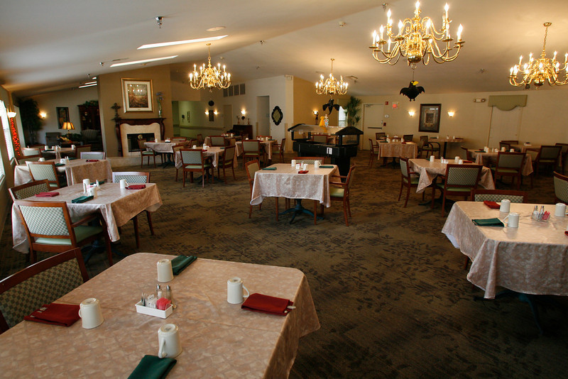 Heatheridge Senior Assisted Living Community in Tulsa  finished renovating their dining room, in May of last year.