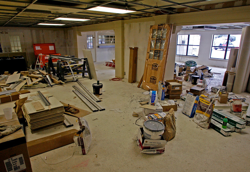 Leisure Village Heath Care Community in Tulsa is undergoing a $1 million renovation which should be finished within a month.
