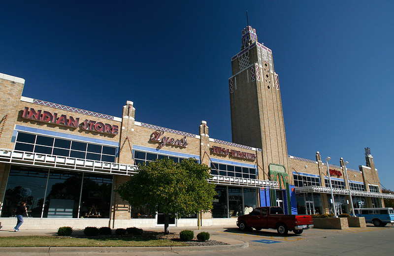 The Public Market building is an Art Deco icon of Downtown Tulsa.