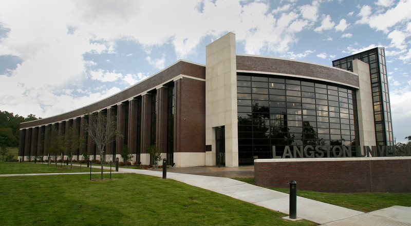 Langstonís Tulsa campus building.