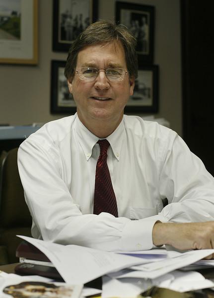 Tulsa mayoral candidate Dewey Bartlett.