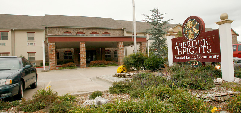 Aberdeen Height assisted living center in South Tulsa.