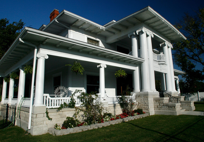 The Burnett Mansion in Sapulpa.