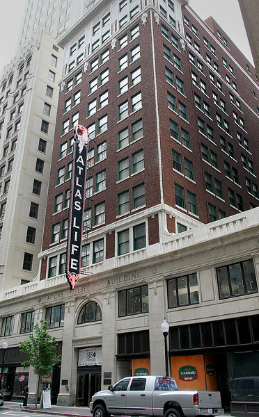 The Atlas Life Building in Downtown Tulsa.
