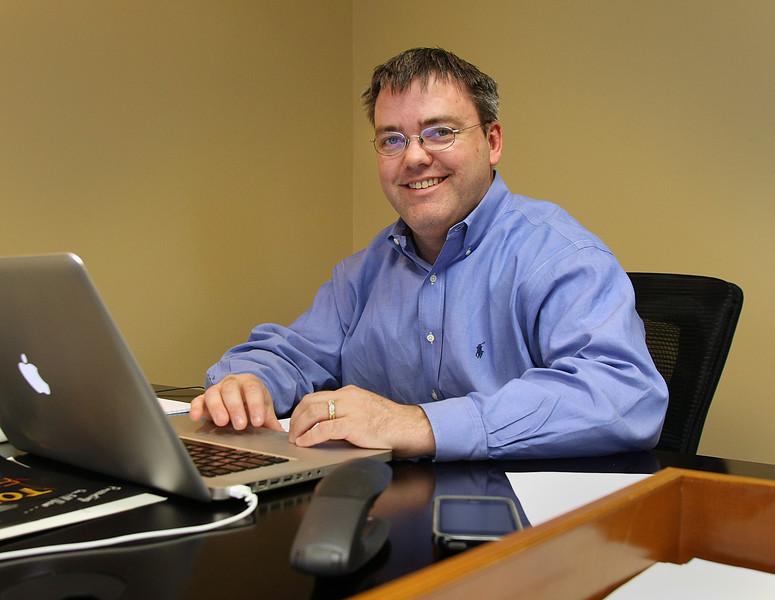 Stephen Karbelk of National Commercial Auctioneers in Tulsa.