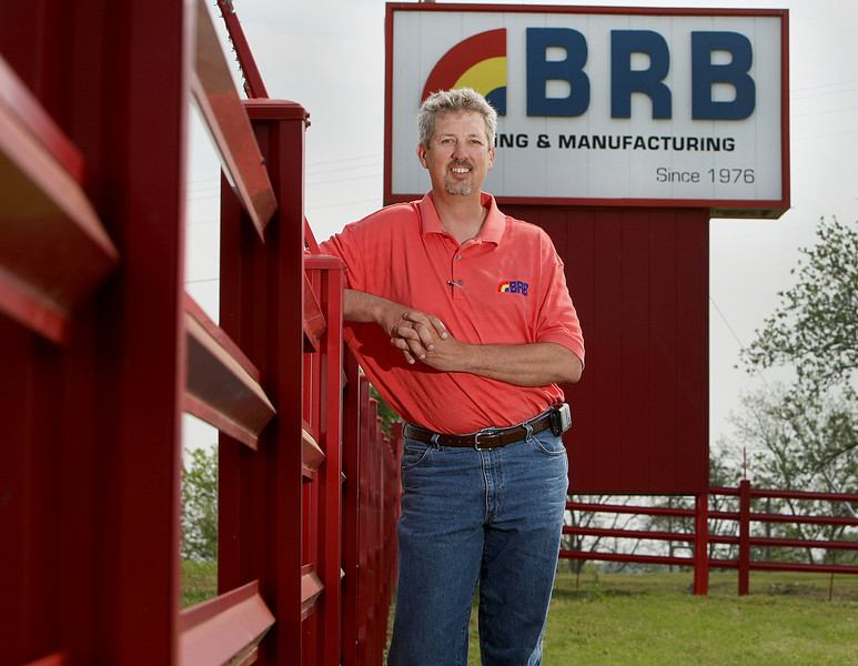 Doss Briggs, Senior VP of BRB Metal Roofing and Manufacturing in Ft. Gibson.