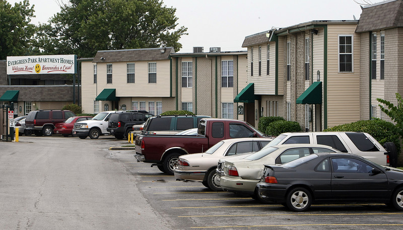 The Evergreen Park Apartments located at 8314 E 25th Place in Tulsa sold for $2.4 Million at auction Tuesday.