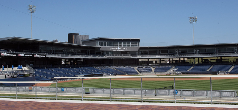 The OneOk Field in Downtown Tulsa.