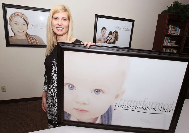 Dierdre Mccool, executive director with Deaconess Pregnancy & Adoption Services. PHOTO BY MAIKE SABOLICH