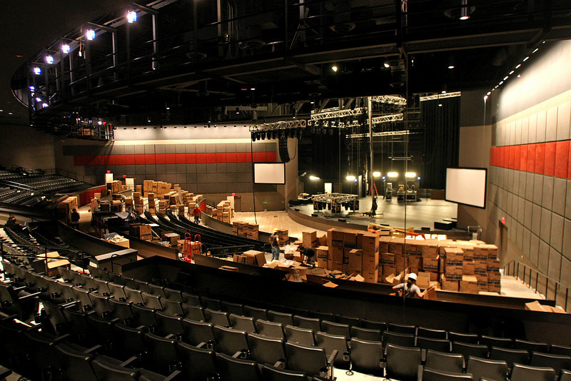 """The nearly complete 2700 seat entertainment venue """"The Joint"""" at the hard Rock Casino in Catossa."""