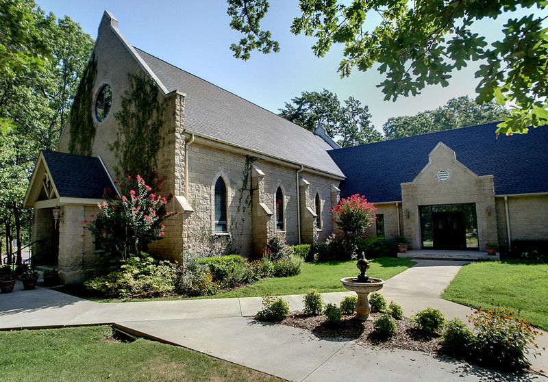 The All Saints Anglican Church in South Tulsa.