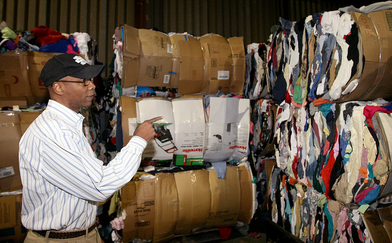 Erwin Mason, development and marketing manager at Professional Recyclers. PHOTO BY MAIKE SABOLICH
