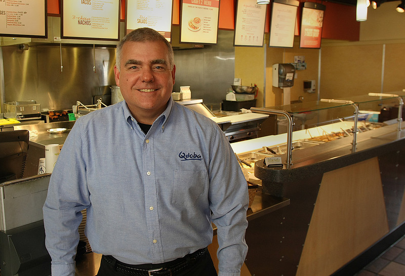 Randy Allen, Managing Member of Burrito Concepts, at his Tulsa store.