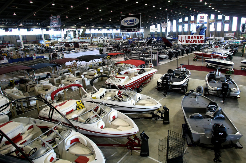 The Tulsa Boat, Sport & Travel Show begins Monday at the QT Center on the Tulsa Fairgrounds.