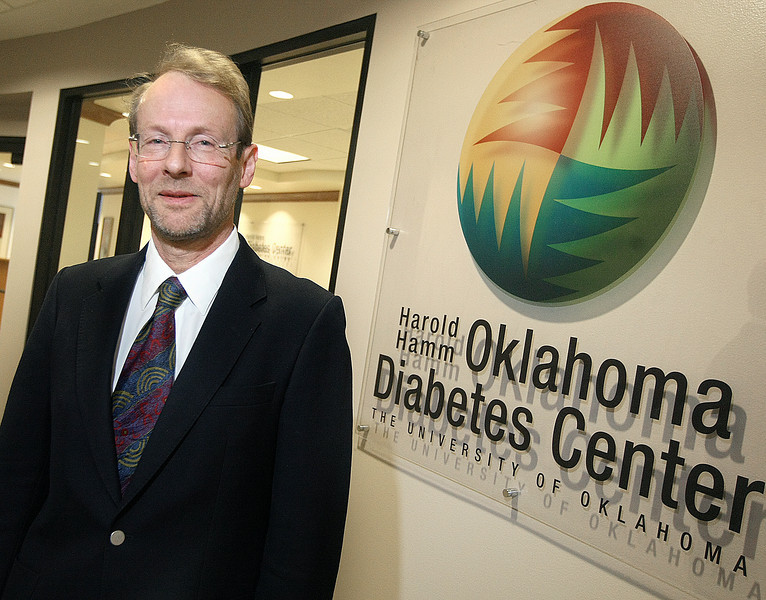 Dr. Timothy Lyons, director of the Harold Hamm Oklahoma Diabetes Center. PHOTO BY MAIKE SABOLICH