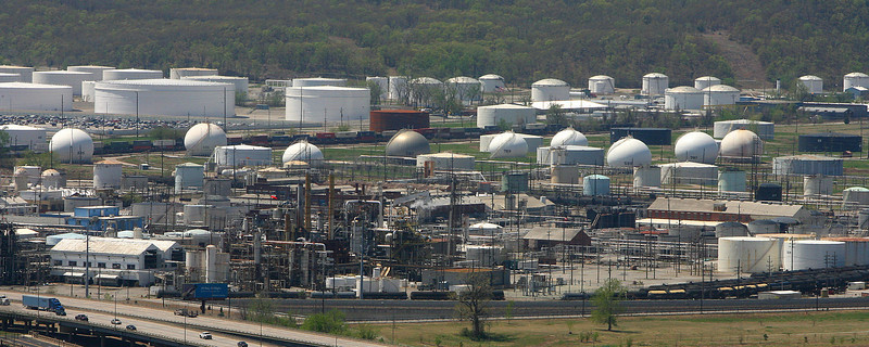 Holly Energy Partners LP spends $93 million to purchase petroleum tanks with 2 million barrels of capacity and rail loading rack facilities at Holly Corp.'s Tulsa refinery site.