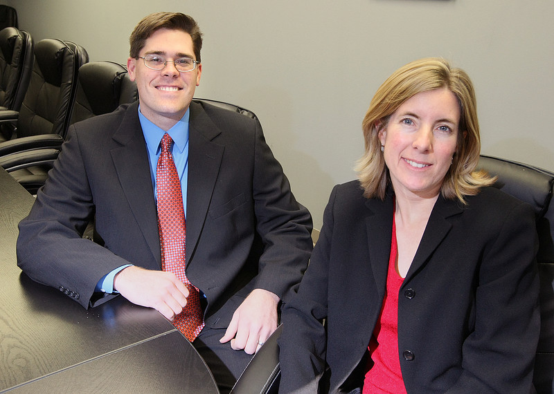 PreDENT principals James Haddock and Mallory Van Horn. PHOTO BY MAIKE SABOLICH