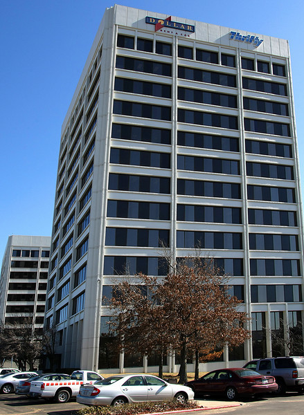 The Dollar Thrifty headquarters located in Tulsa.