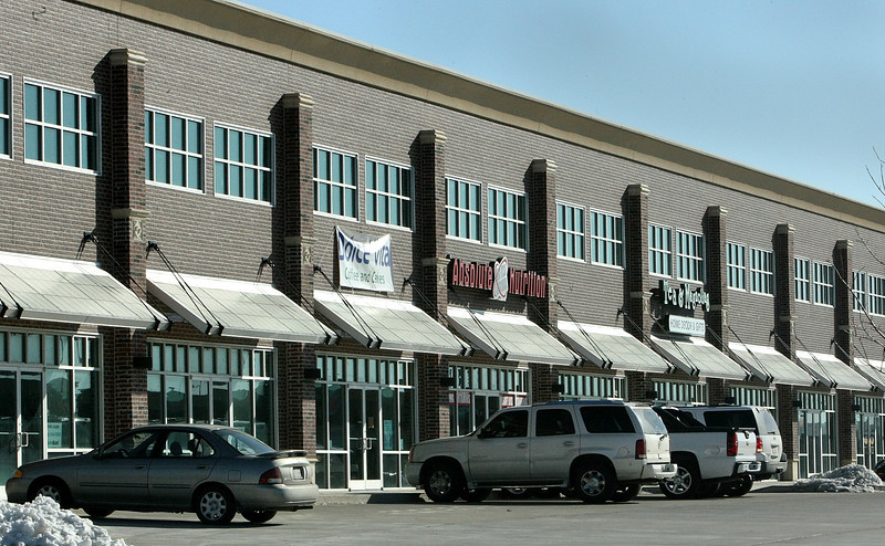 A row of retail space sits half empty at the Spirit Center in Bixby.