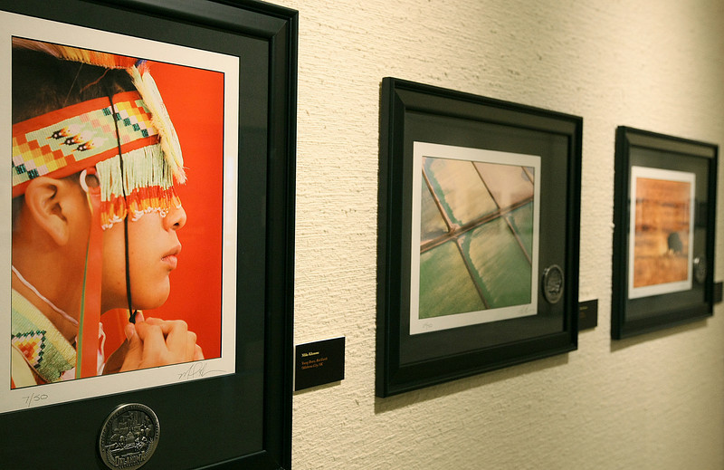 Centennial Photographer Mike Klemme's photographs are on display at the Capitol. PHOTO BY MAIKE SABOLICH
