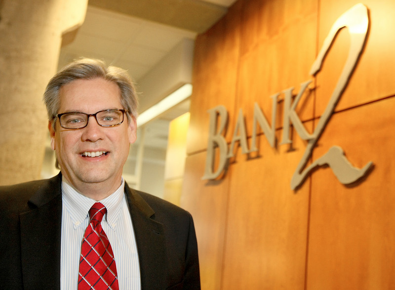 Rod Whitson, president of Bank2. PHOTO BY MAIKE SABOLICH