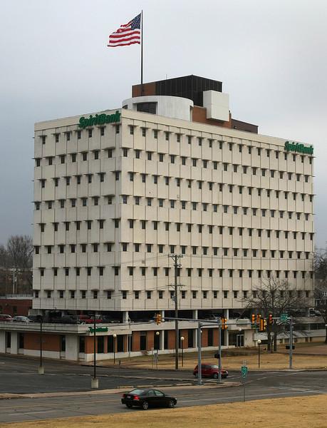 The Spirit Tower near downtown Tulsa.