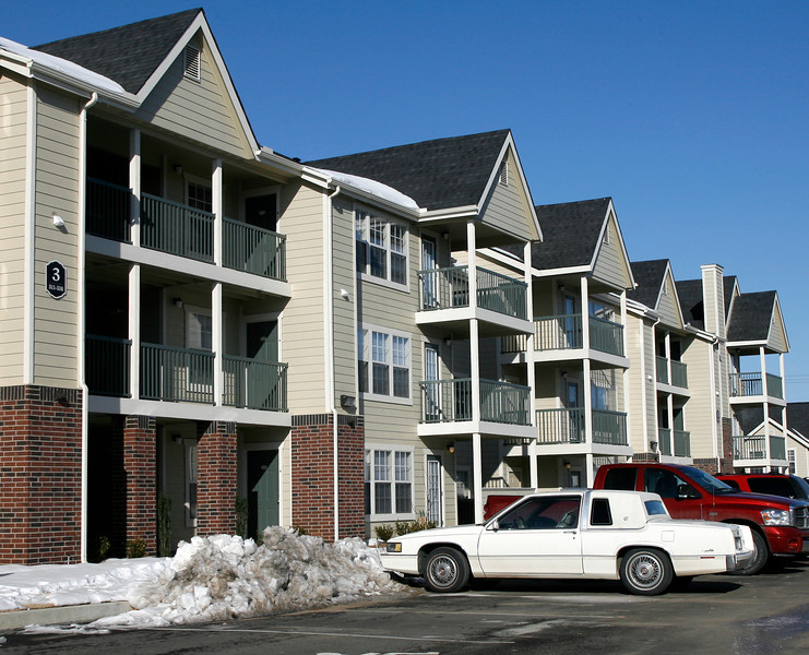The Oakmont Apartment complex in Catoosa.