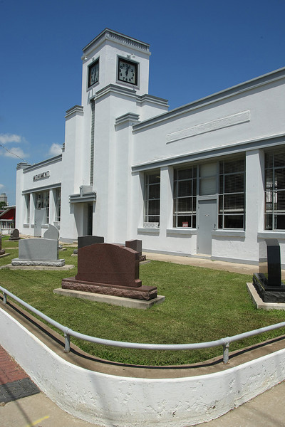 The Benchmark  Monument  Company building on old Route 66 in Tulsa.