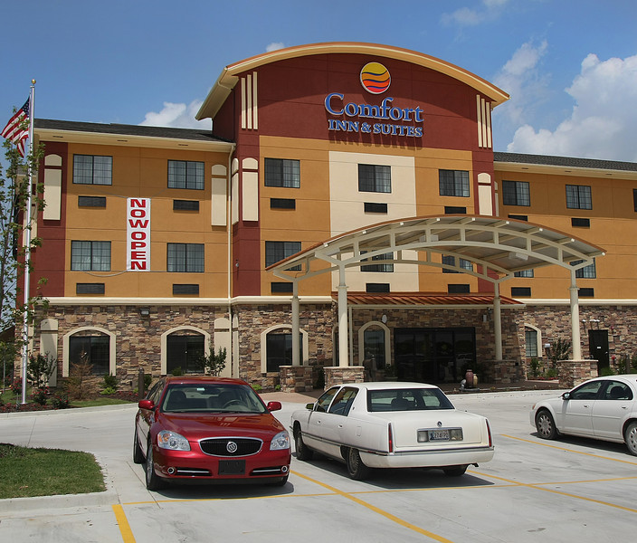 The recently completed Comfort Inn and Suites in Glenpool.