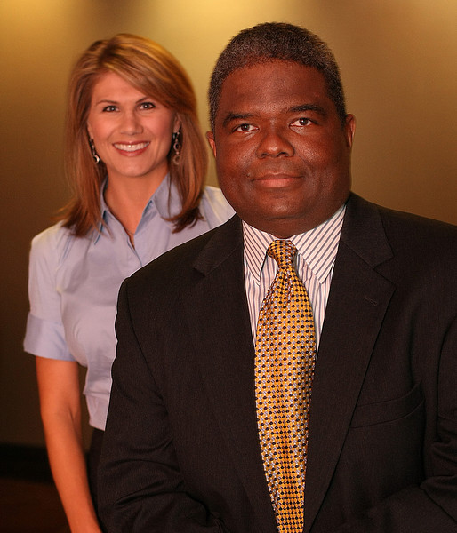 Helix Bioscience Regional Manager Dee Ann Wicks and Chief Executive Officer Lincoln Maxwell.
