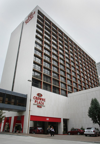 The Crowne Plaza Hotel will soon hit the sheriff's sale block following its foreclosure in Tulsa County District Court.