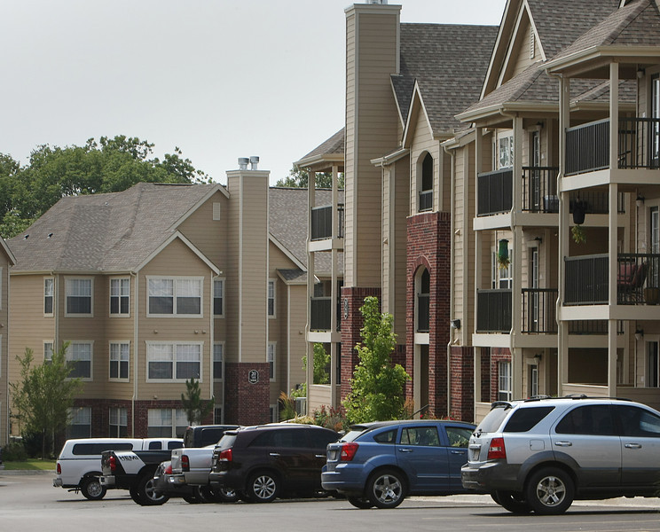 A local Tulsa apartment complex.